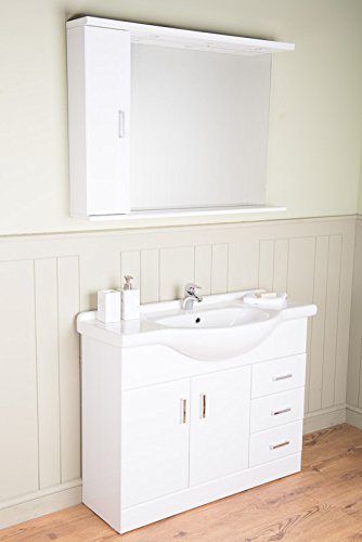 Badmöbel Badezimmermöbel Waschbecken Unterschrank ...