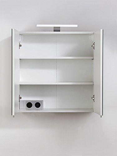 cavadore 86137 spiegelschrank sharpcut bad eleganter. Black Bedroom Furniture Sets. Home Design Ideas