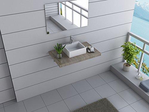 design badm bel set australia waschtisch mit waschbecken canberra 80 cm breit 3 dekore zur wahl. Black Bedroom Furniture Sets. Home Design Ideas