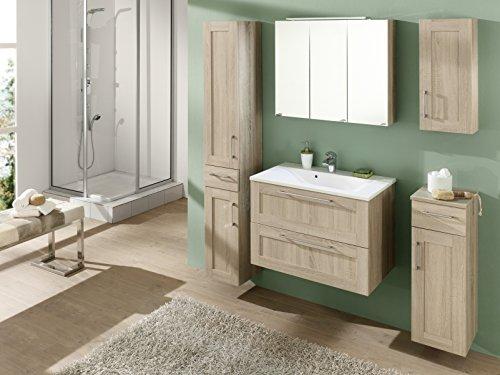 kesper badm bel 6017710000001000 spiegelschrank montana 3 t ren led leuchte 65 5 x 80 x 15 5. Black Bedroom Furniture Sets. Home Design Ideas