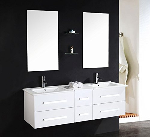 luxus4home design doppel badm bel set serpia dual wei. Black Bedroom Furniture Sets. Home Design Ideas