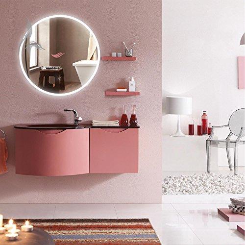 runder bad spiegel led beleuchtet cottbus 60cm rund. Black Bedroom Furniture Sets. Home Design Ideas