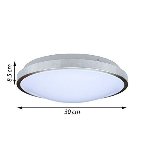 savony ip20 inkl 2x led leuchtmittel e27 2x 6w 1040lm decken wandleuchte deckenlampe. Black Bedroom Furniture Sets. Home Design Ideas