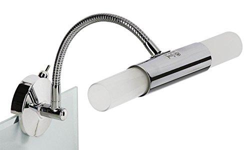 Chrom wandleuchte Badezimmer    Bad Lampe    Spiegeleuchte chrom