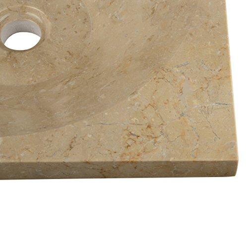 Divero naturstein handwaschbecken aufsatzwaschbecken for Aufsatzwaschbecken naturstein