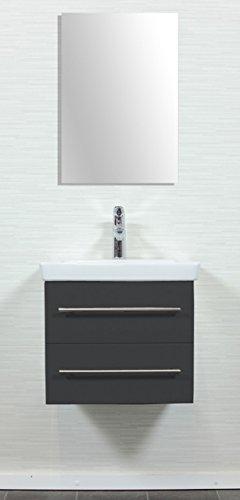 emotion subway2 0 50cm000104de waschbecken mit unterschrank holz anthrazit seidenglanz 50 x. Black Bedroom Furniture Sets. Home Design Ideas