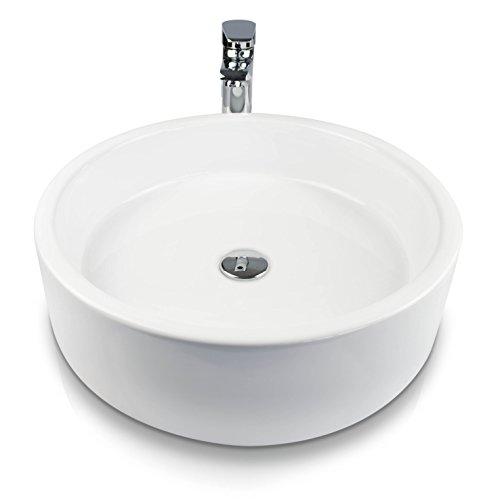 venkon design aufsatz waschbecken mit nano beschichtung keramik waschschale f r tischmontage. Black Bedroom Furniture Sets. Home Design Ideas