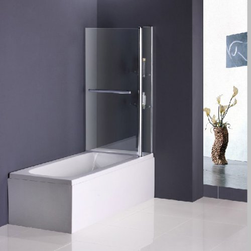 100x140cm duschabtrennung badewannenfaltwand duschwand badewannenaufsatz c2s h 0 0. Black Bedroom Furniture Sets. Home Design Ideas