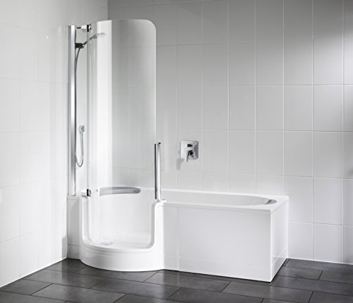 Badewanne mit Tür | Badewanne zum leichten einsteigen | Seniorenbadewanne