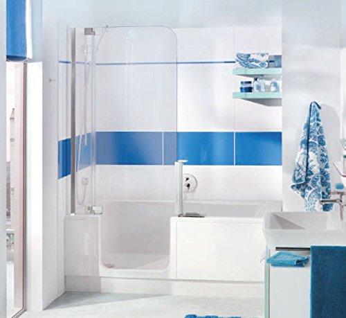 nischen badewanne mit t r und dusche artweger twinline 2. Black Bedroom Furniture Sets. Home Design Ideas