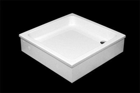 grawello duschwanne duschtasse zum befliesen rechteck quadrat 90x90x26cm. Black Bedroom Furniture Sets. Home Design Ideas