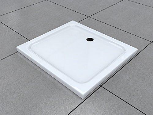 100 x 90 cm duschtasse duschwanne acrylwanne acryl brausewanne 5 cm flach. Black Bedroom Furniture Sets. Home Design Ideas