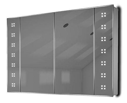 k121 badezimmer spiegelschrank ambiente mit sensor rasiersteckdose diamond x collection. Black Bedroom Furniture Sets. Home Design Ideas
