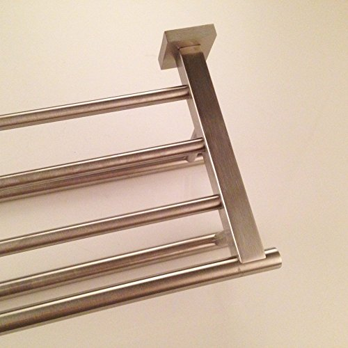 kes a2112 regal mit handtuchhalter edelstahl handtuchhalter mit zwei handtuchhalter. Black Bedroom Furniture Sets. Home Design Ideas