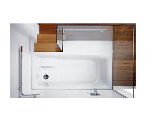repabad stairway dusch badewanne 170 ecke mit glaswand wannentr ger kombiwanne mit rotaplex ab. Black Bedroom Furniture Sets. Home Design Ideas