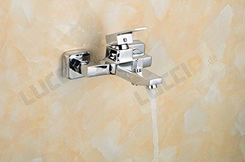 vesi 1700 3 m einhand mischbatterie aufputz dusch bad armatur wandmontage neu. Black Bedroom Furniture Sets. Home Design Ideas