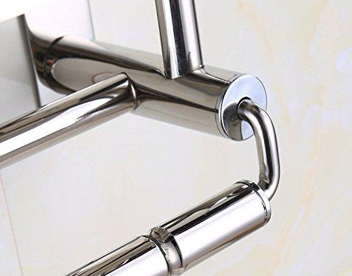 yontree handtuchstange handtuchhalter handtuchhalter mit haken wandmontage aus edelstahl. Black Bedroom Furniture Sets. Home Design Ideas