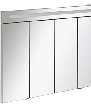 Spiegelschrank mit 4 Türem | Badezimmer Spiegelschrank 110cm breit | Spiegelschrank 110x785x165cm