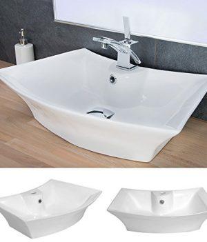 waschtisch oval mit vidaxl luxurises keramik waschbecken oval berlauf x cm with waschtisch oval. Black Bedroom Furniture Sets. Home Design Ideas