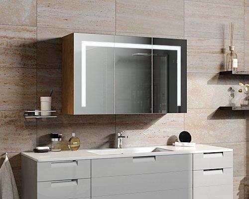 spiegelando serella v30 led spiegelschrank mit