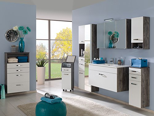 3d spiegelschrank bad badm bel schrank spiegel badezimmerschrank sumba iii. Black Bedroom Furniture Sets. Home Design Ideas