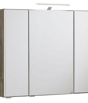 Badschrank mit Beleuchtung | Spiegelschrank mit Beleuchtung | Badezimmer Spiegelschrank