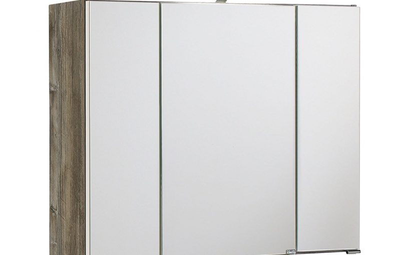 3D Spiegelschrank Badschrank Badmöbel Spiegel Badezimmer Schrank Bad \