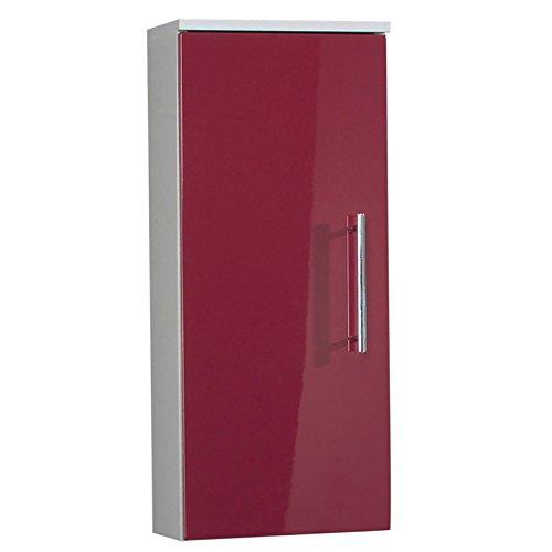 badezimmer schrank rot | hochglanz badezimmer schrank | badmöbel rot