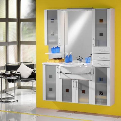 Badezimmer Badblock Badmöbel Set Waschplatz Waschtisch Bad