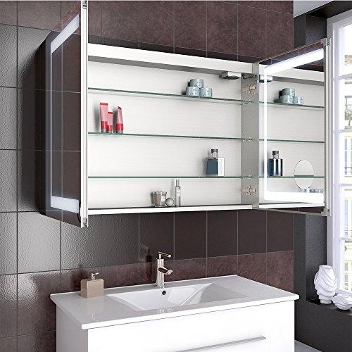 Steckdose Badezimmer | Badezimmer Spiegelschrank Aluminium Bad Schrank Led Steckdose