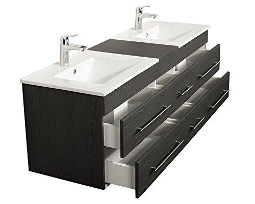 Doppelt Waschbecken | Waschtisch Doppelt | Waschplatz mit doppel waschbecken
