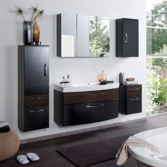badm bel set badezimmerm bel paris komplett set waschbeckenschrank mit waschtisch und. Black Bedroom Furniture Sets. Home Design Ideas