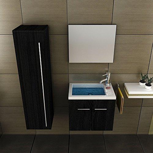 Badmobelset Waschbecken Und Unterschrank Hochschrank Design