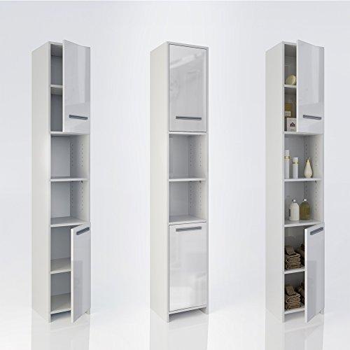 Badezimmerschränke Design: Badschrank Badezimmerschrank Hochschrank Badmöbel Schrank