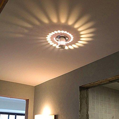 Baytter Design Led Wandleuchte Effektlampe Wandlampe Flutlicht Alu