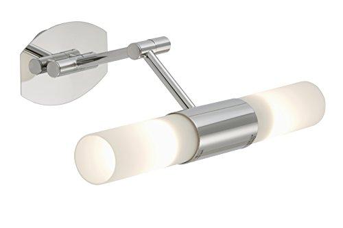 briloner leuchten badlampe badleuchte wandleuchte 2xe14 9w 405lm inkl. Black Bedroom Furniture Sets. Home Design Ideas