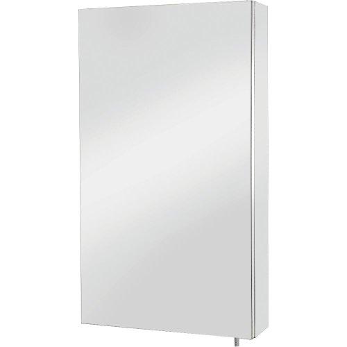 Croydex Colorado Spiegelschrank mit Tür, Edelstahl » Badezimmer1.de
