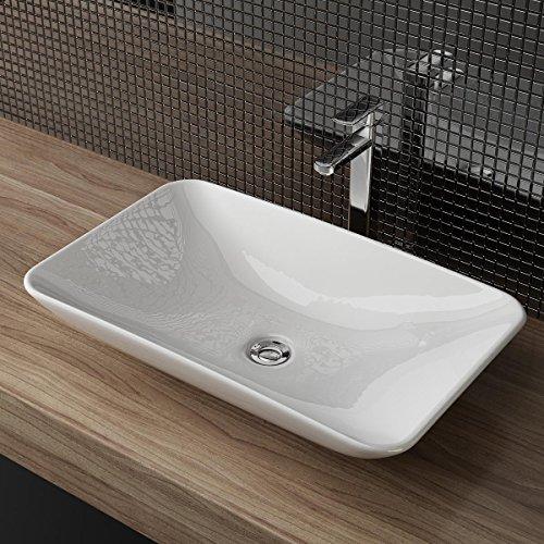 design keramik aufsatzwaschbecken waschtisch waschschale waschplatz f r badezimmer g ste wc a65. Black Bedroom Furniture Sets. Home Design Ideas