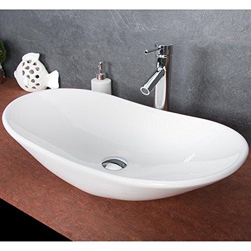 Waschbecken Oval Aufsatz : design keramik waschschale oval aufsatz waschbecken ~ A.2002-acura-tl-radio.info Haus und Dekorationen
