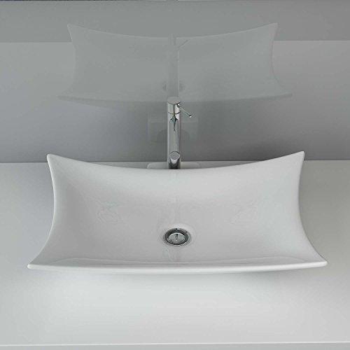 design keramik waschtisch aufsatz waschbecken waschplatz f r badezimmer g ste wc a68. Black Bedroom Furniture Sets. Home Design Ideas