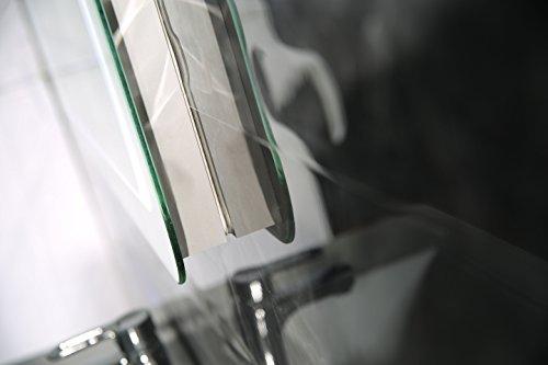 Design LED Beleuchtung Badspiegel Badezimmerspiegel GS050 90x65cm ...