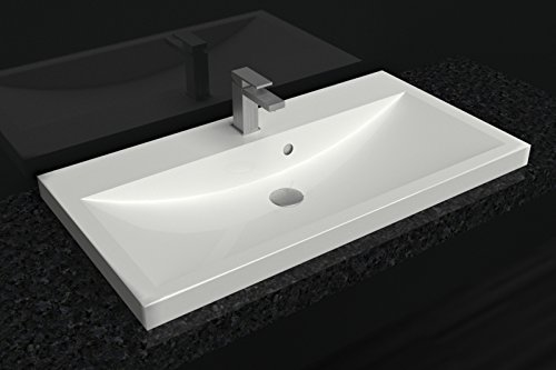 emma waschplatz badm bel waschbecken mit unterschrank ohne armatur und abfluss kompakte. Black Bedroom Furniture Sets. Home Design Ideas
