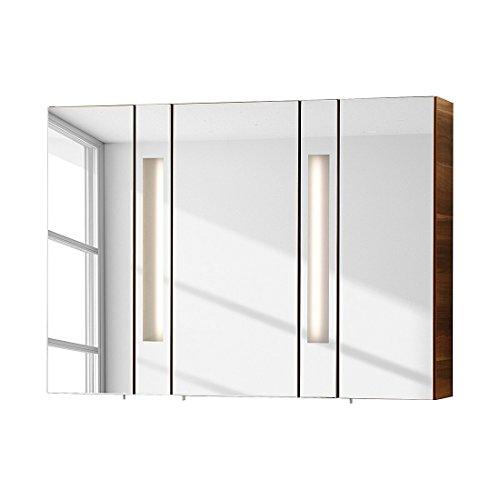 fackelmann spiegelschrank arte 7 zwetschge nachbildung. Black Bedroom Furniture Sets. Home Design Ideas