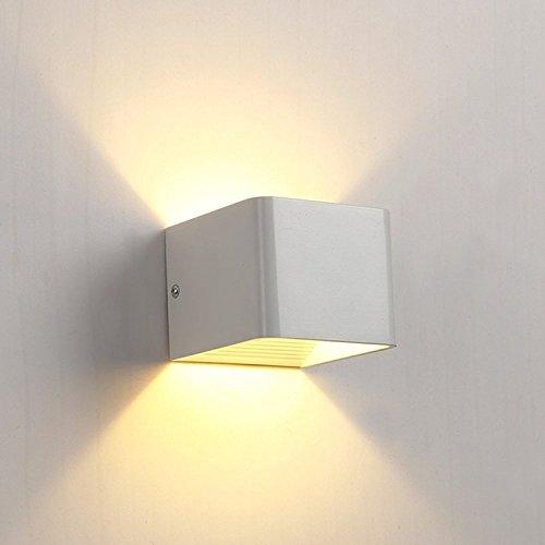 hedc 6w led wandleuchten treppenleuchten wandlampe badlampe wandbeleuchtung wandstahler. Black Bedroom Furniture Sets. Home Design Ideas