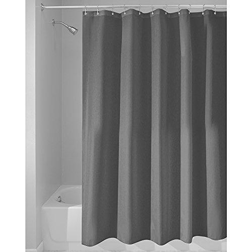 interdesign 14686eu schimmelresistenter wasserabweisender stoff duschvorhang 180 x 200 cm. Black Bedroom Furniture Sets. Home Design Ideas