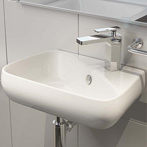 keramik aufsatzbecken waschbecken waschtisch waschschale wandmontage g ste wc h91. Black Bedroom Furniture Sets. Home Design Ideas