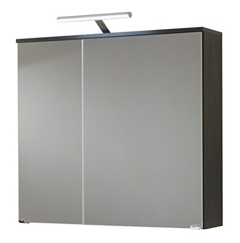 kesper badm bel 5717410000001000 spiegelschrank bali 2 t ren led leuchte 75 x 80 x 21 cm. Black Bedroom Furniture Sets. Home Design Ideas