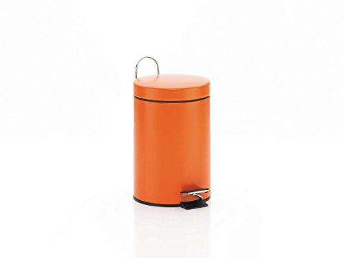 Kosmetikeimer orange 3 liter | Bad Accessoires  Kosmetikeimer | badezimmereimer orange