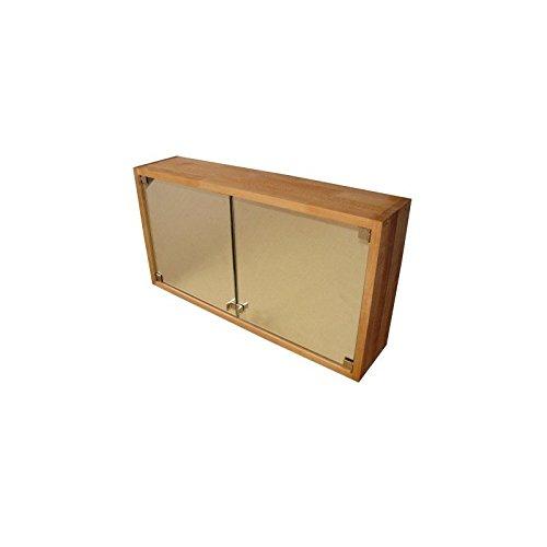 Badezimmer Möbel Echtholz: Praktischer Badezimmerschrank, Spiegelschrank