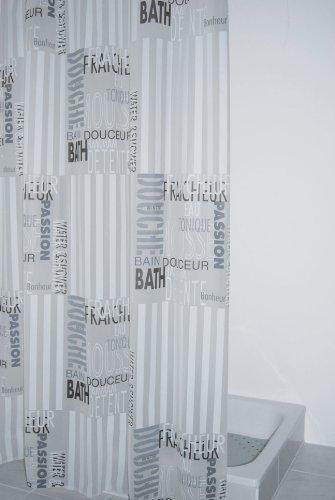 ridder 303120 duschvorhang folie ca 180 x 200 cm font. Black Bedroom Furniture Sets. Home Design Ideas